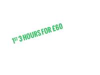 1st three hours only £60 East London Deal only